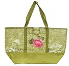 Lace Tote Green