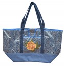 Lace Tote Blue