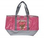 Lace Tote Pink