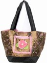 Pink Camelia Tote